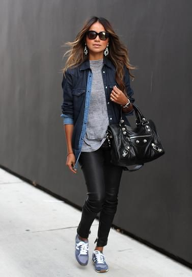 Nice ideas for look sport chic, Sports shoes