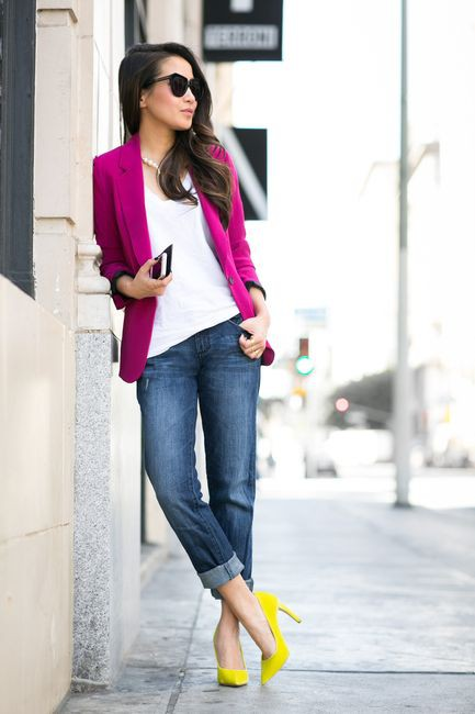 Know more about these blazer magenta, Casual wear