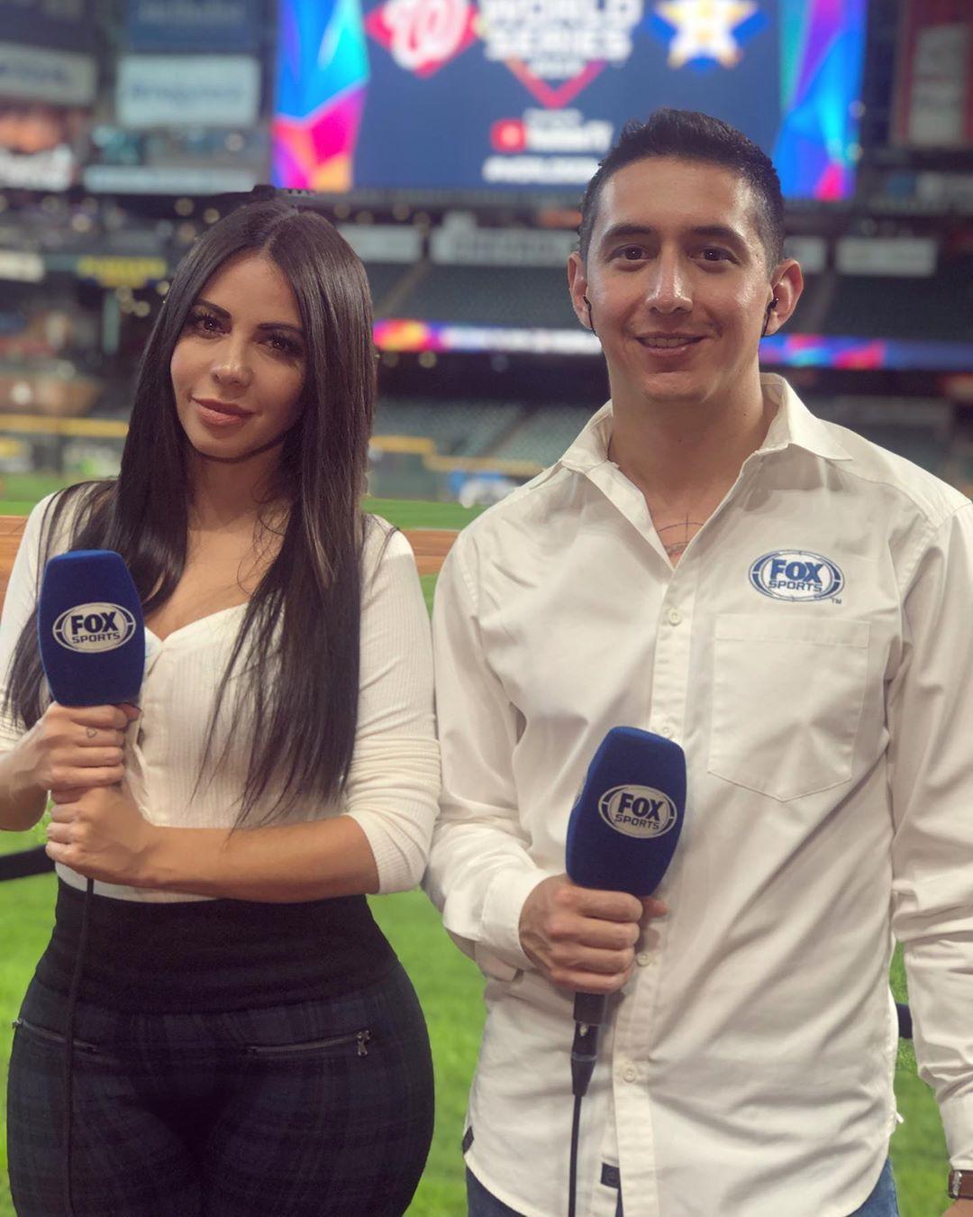 Jimena Sanchez Instagram Pics, Jimena Sanchez, MLB World Series