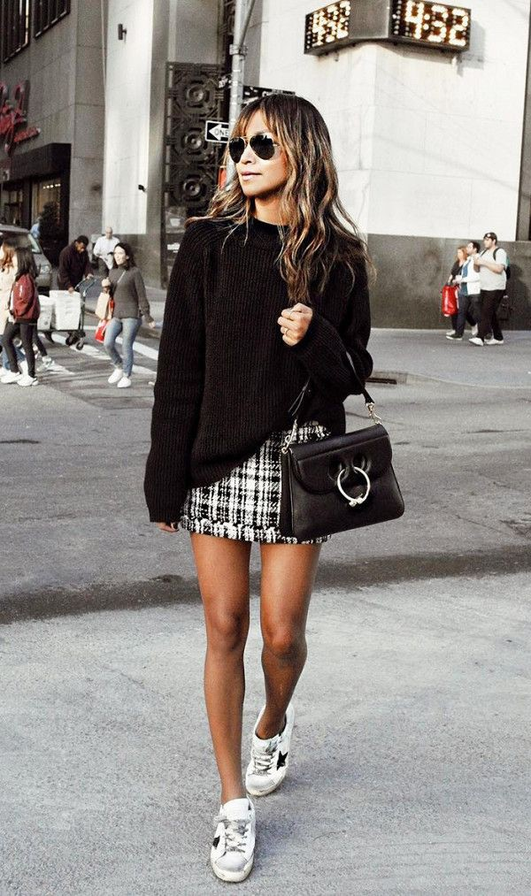 Outfits with golden goose sneakers