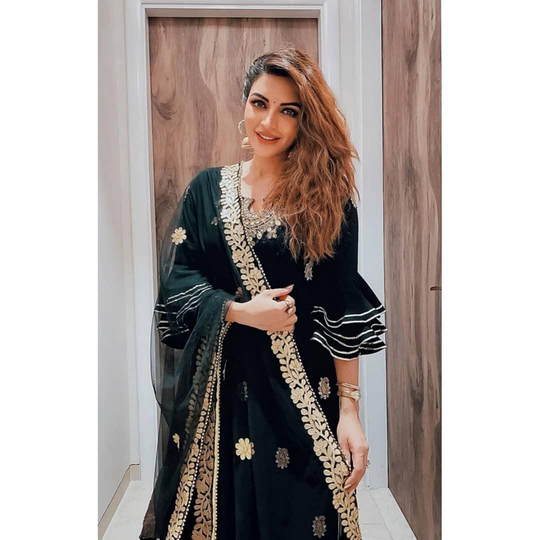 Just take a look at formal wear, Shama Sikander
