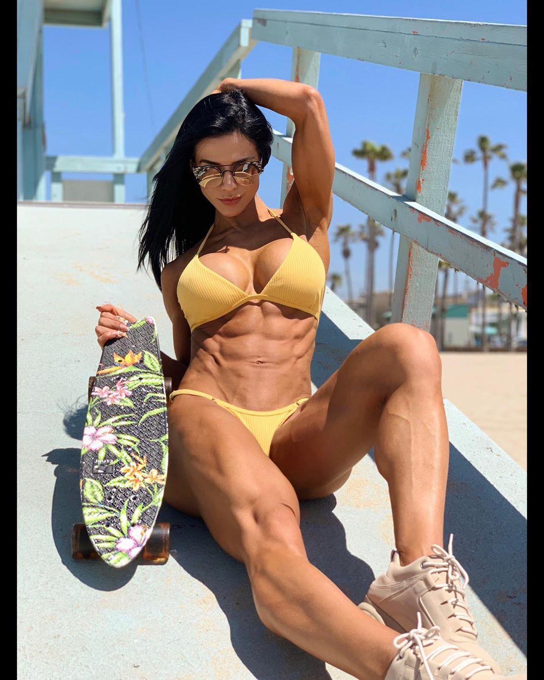 Beach eva andressa vieira, Physical fitness