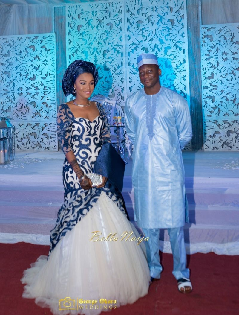 These are must see hausa wedding dresses, African wax prints