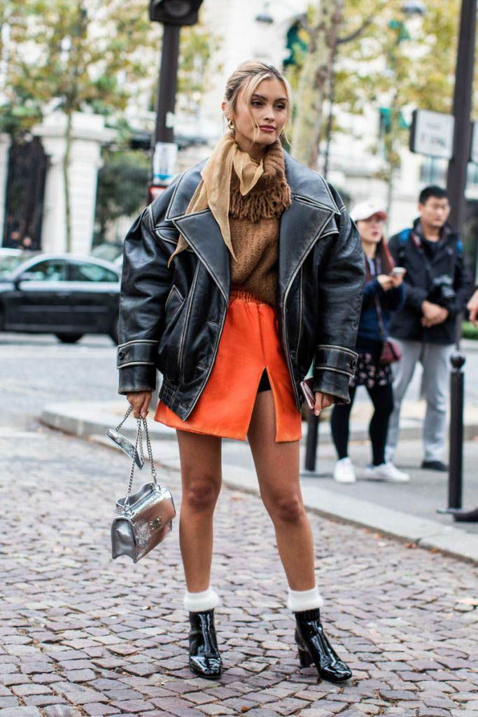 Street Style Outfits For Ladies, ZADO Leather Jacket, BY FAR