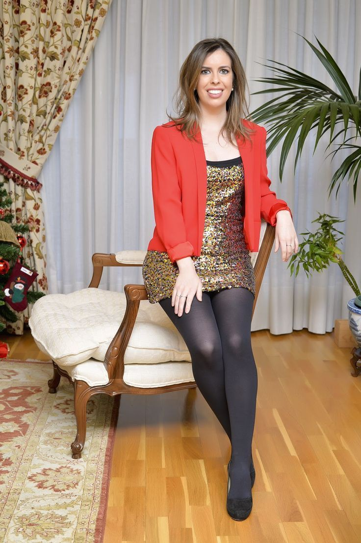 Dresses With Tights, High-heeled shoe
