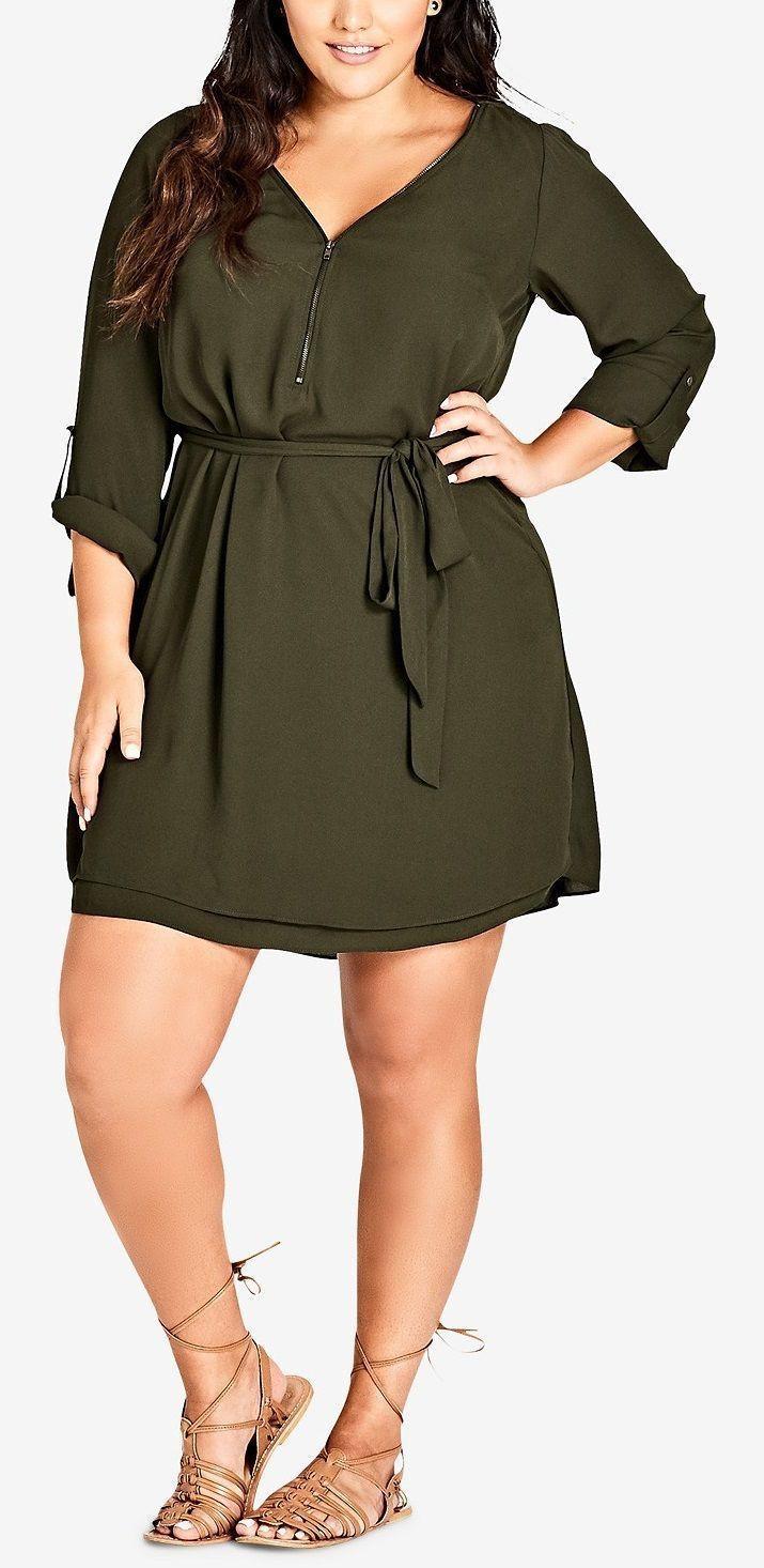 Plus Size Work Outfit, Little black dress, Casual wear