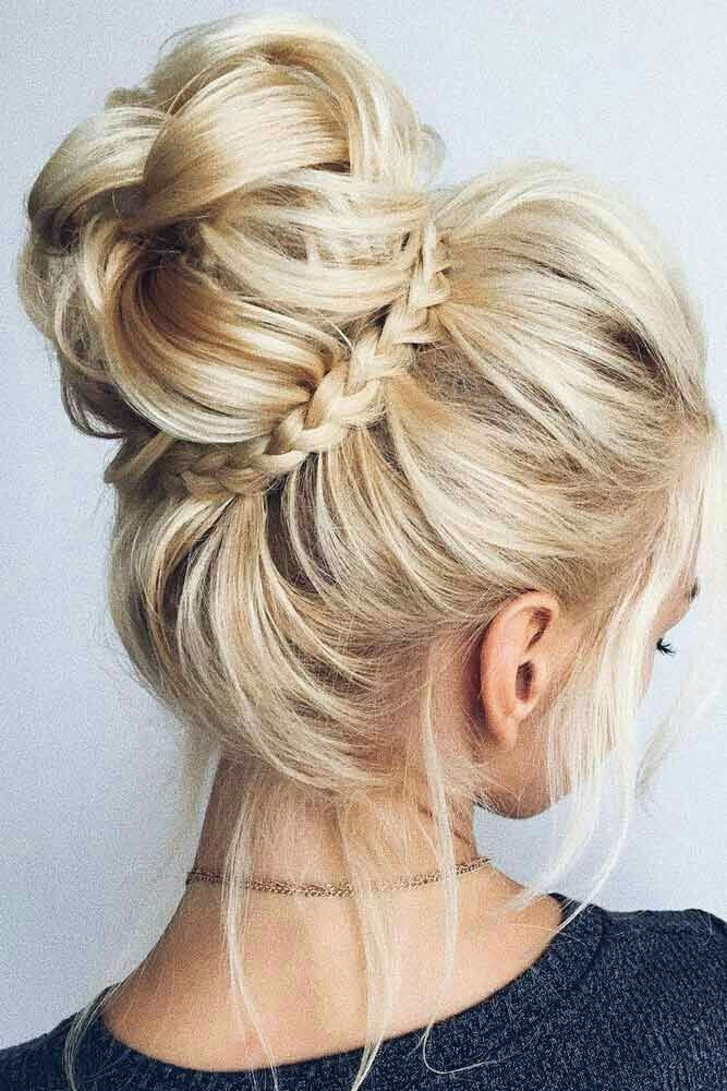 Superb style for bridesmaid updos, Long hair