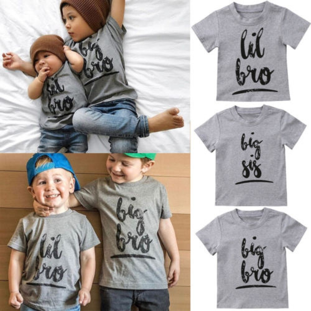 Matching t shirts for boys