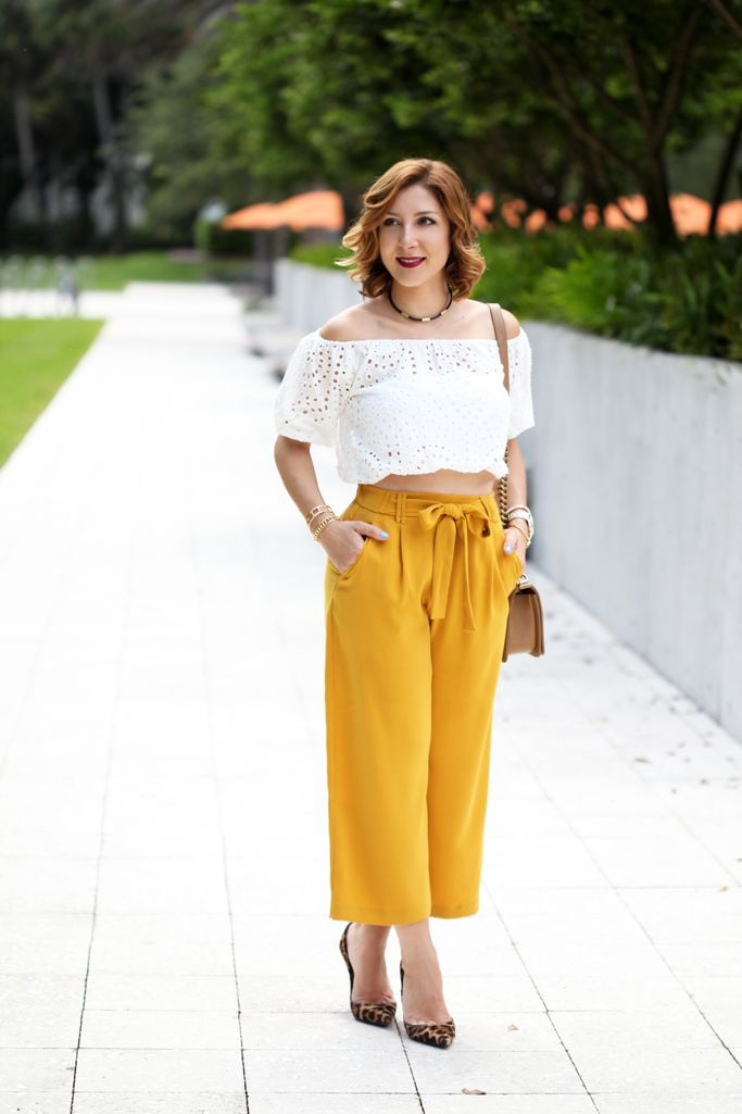 Prom dress ideas for culottes with top, Three quarter pants