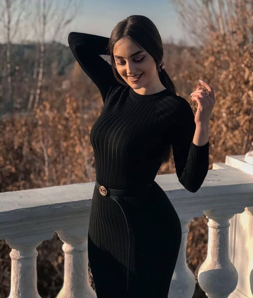 Look at these little black dress, Photo shoot
