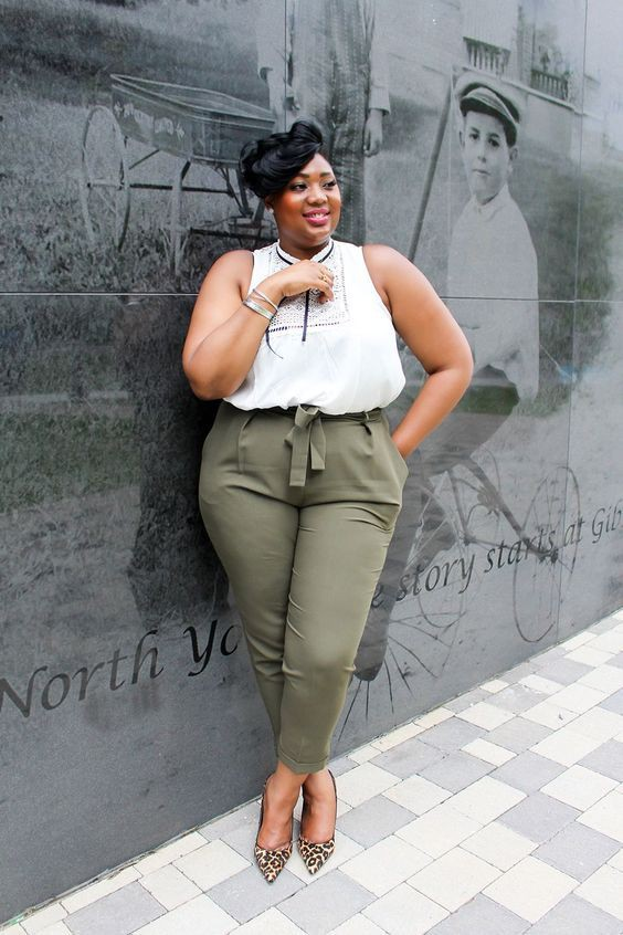 Plus size summer work outfits