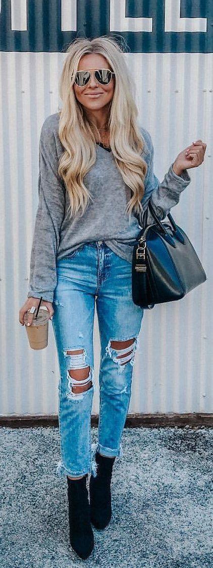 Light Denim Jacket Outfit, Jean jacket, Slim-fit pants