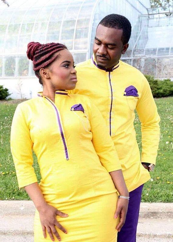 Perfectly crafted couple africaine, Unisex clothing