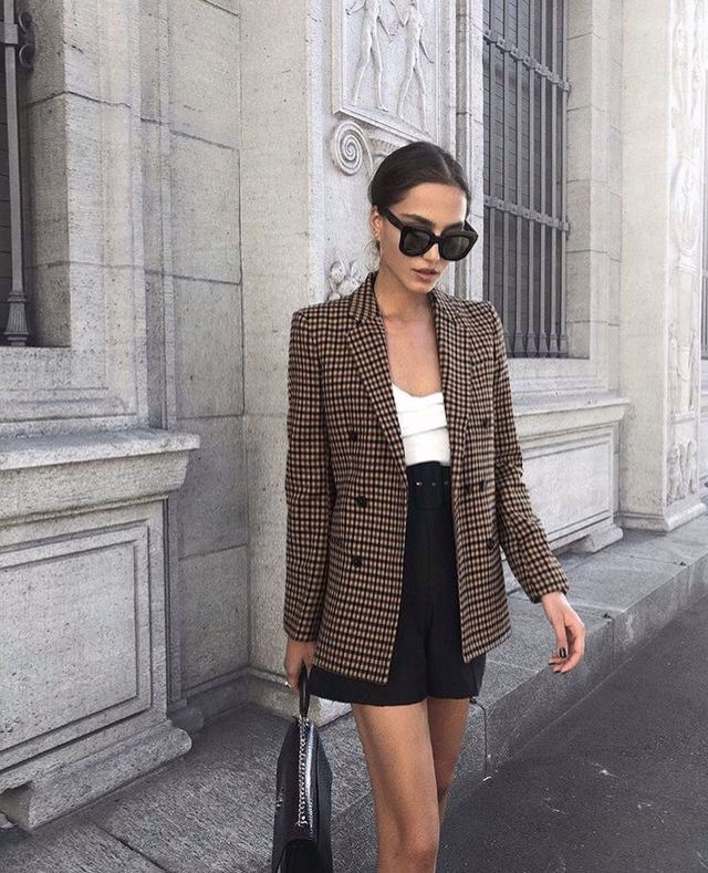 London fashion style blazer outfit, Casual wear
