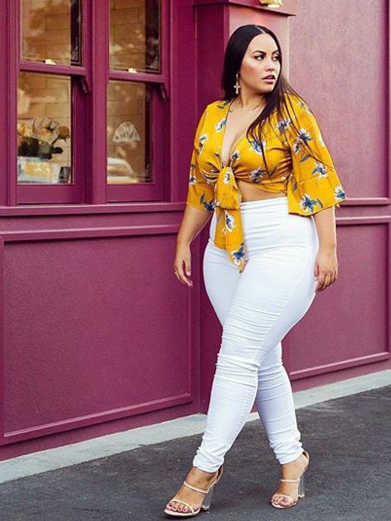 Plus size summer outfits 2019, Plus-size model