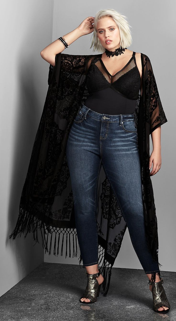 Look rave plus size, Plus-size clothing