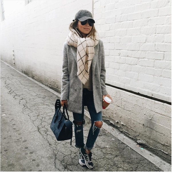 Trendy winter outfits for collage
