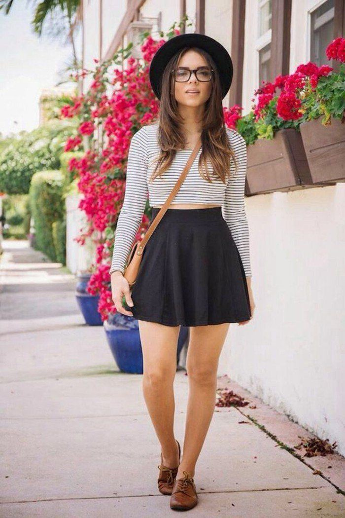 Splendid tips for skater skirt outfit, Skater Skirt