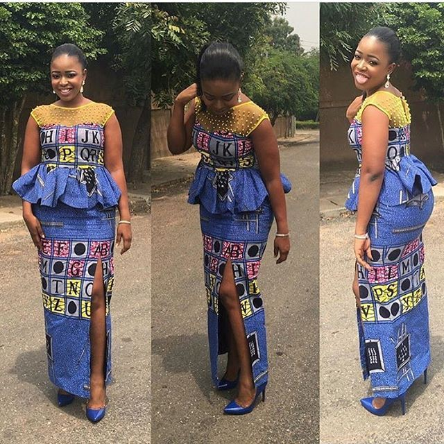 Models favorite latest ankara styles 2019