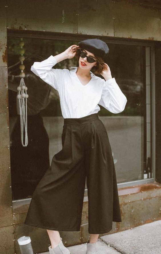 Culottes Outfit Ideas, Something Cool (Stereo), Vintage clothing