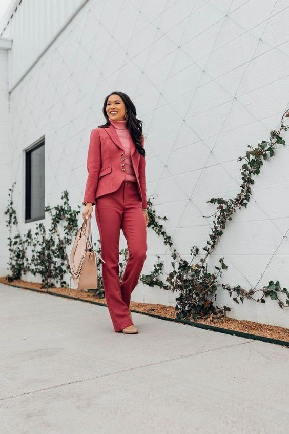 Try these fashion model, tailored suit