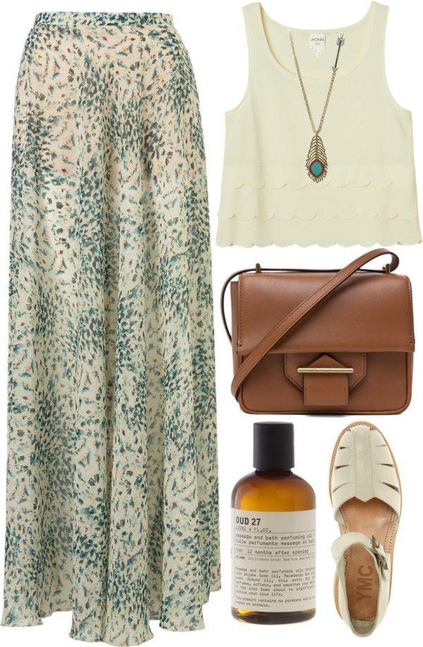 Topshop print maxi skirt, Crop top