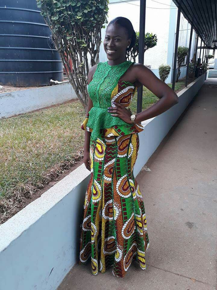 Ghana Kaba Styles, African wax prints, Kente cloth