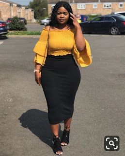 Fashion outfits for thick girl