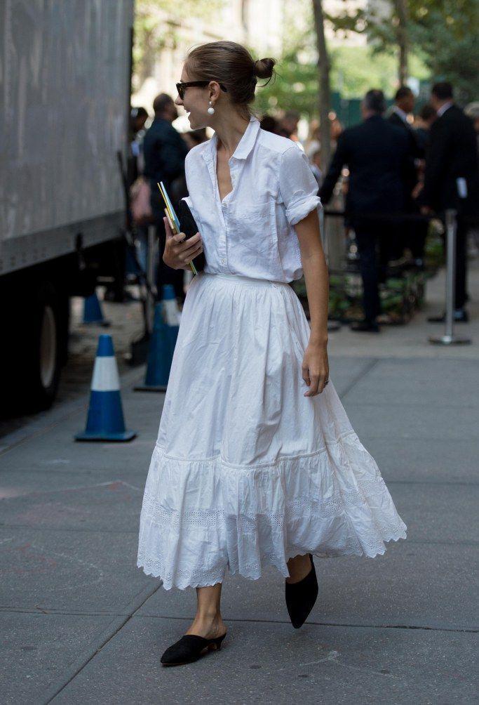 Mules de punta looks, Street fashion