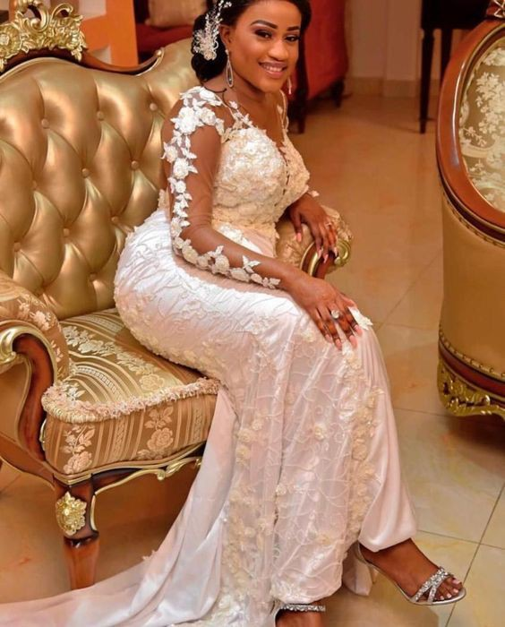 Aso Ebi Styles, Wedding dress, Ball gown