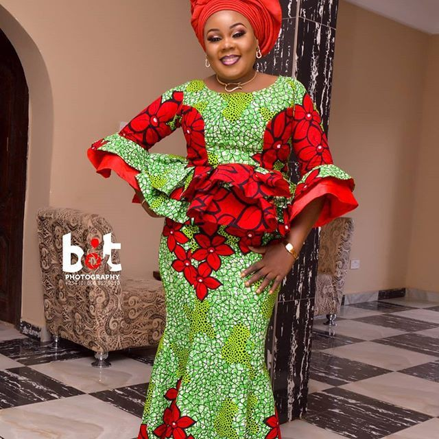 Lovely Ankara Skirt and Blouse Styles 2020
