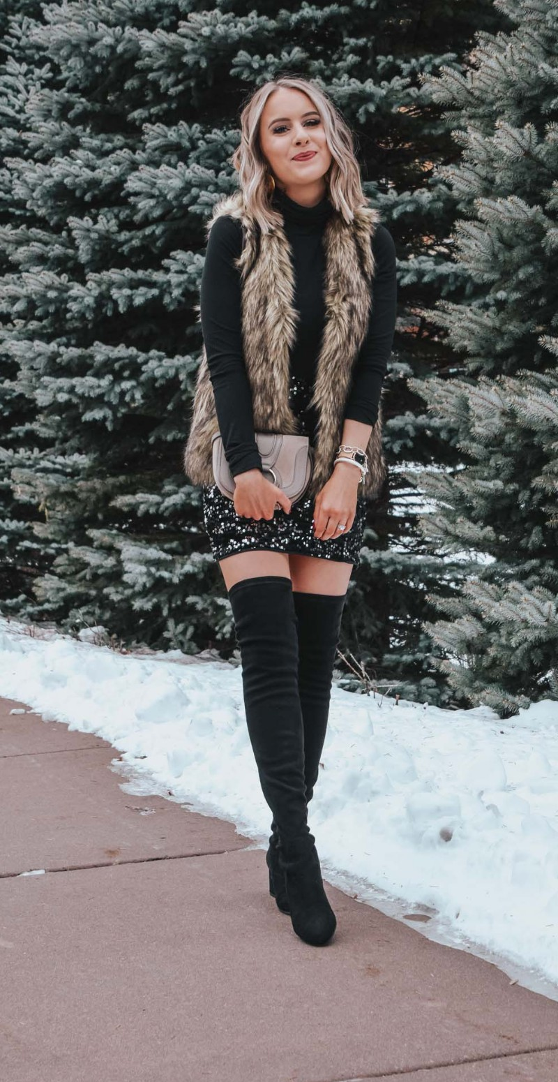 Collections of fur clothing, New Year