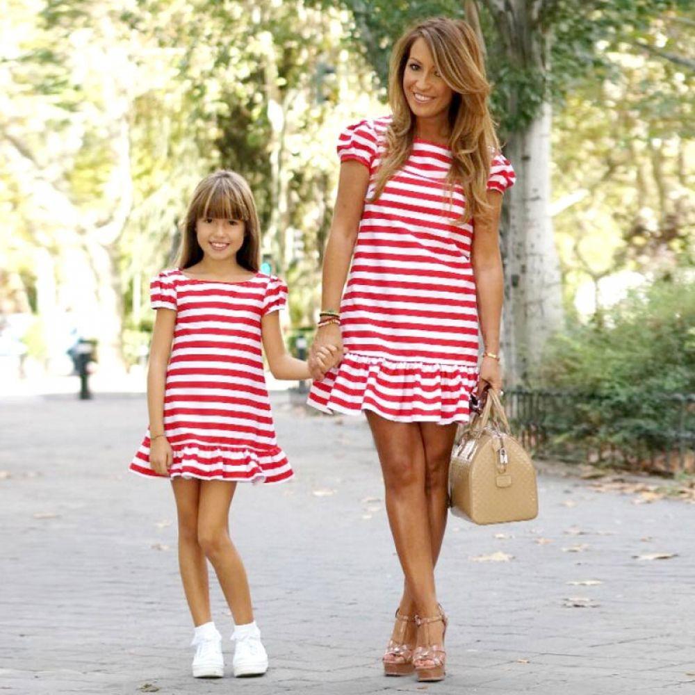 Vestido tal mãe tal filha