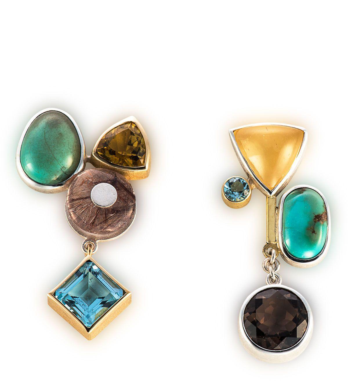 Asymmetrical Earrings Ideas, Body piercing jewellery