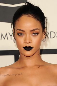 Pretty ideas for black lipstick rihanna, Fenty Beauty