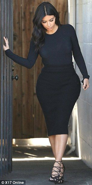 Celebrity Street Style Ideas, Kim Kardashian, Los Angeles