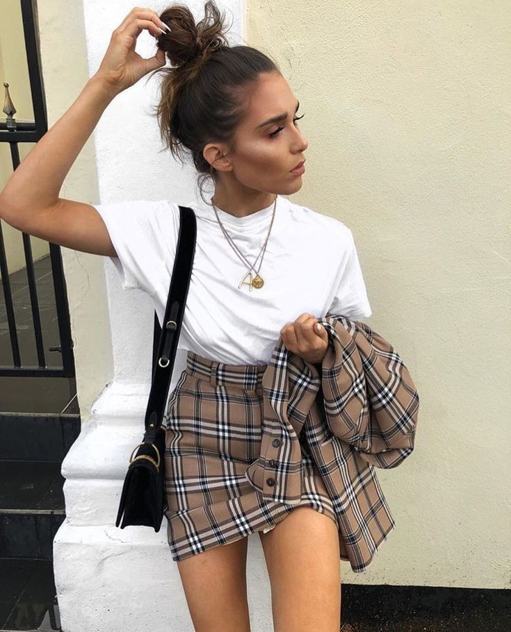 Get this look with skirt outfits, Casual wear