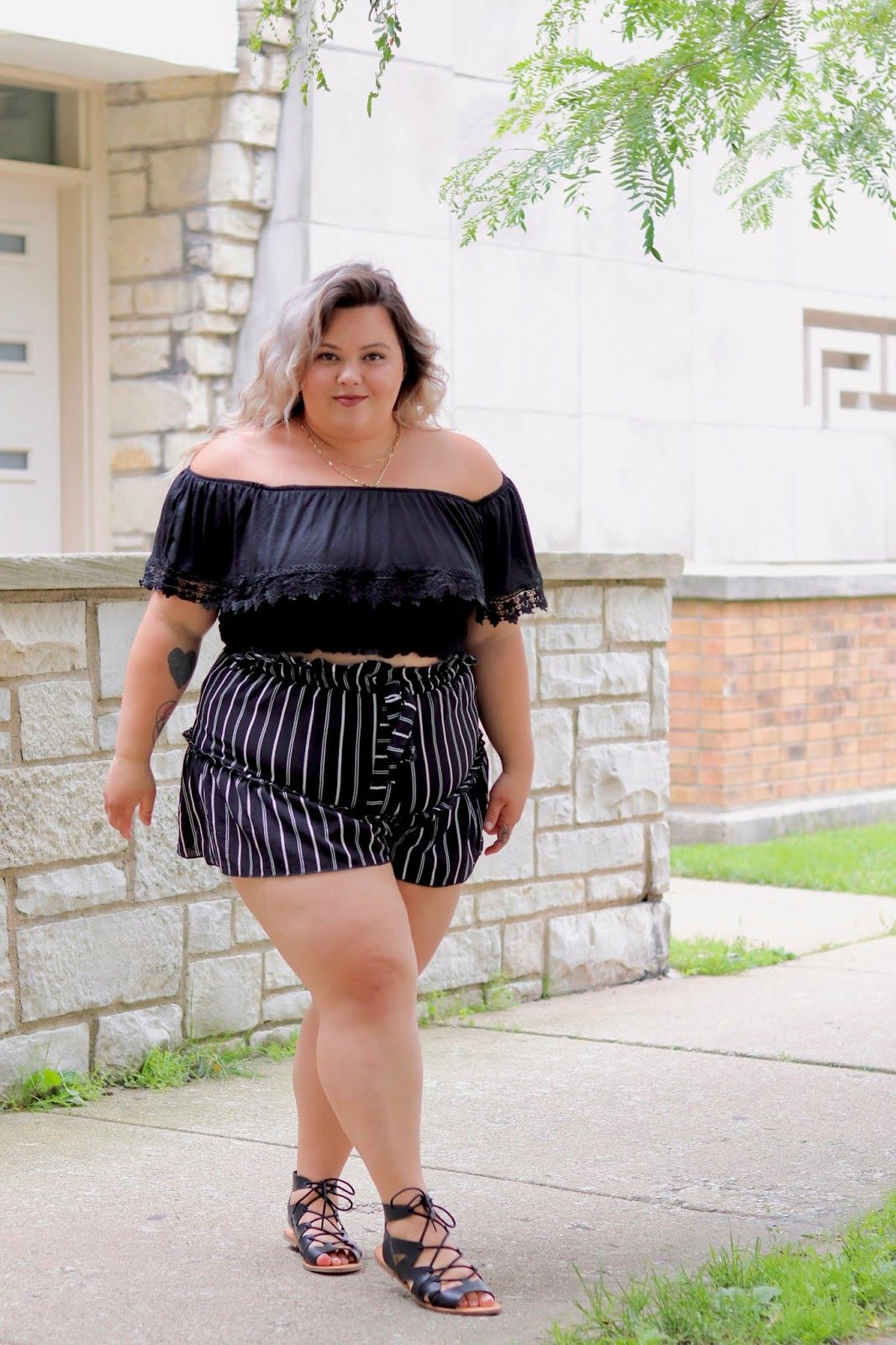 best of curvy girl outfit with crop top