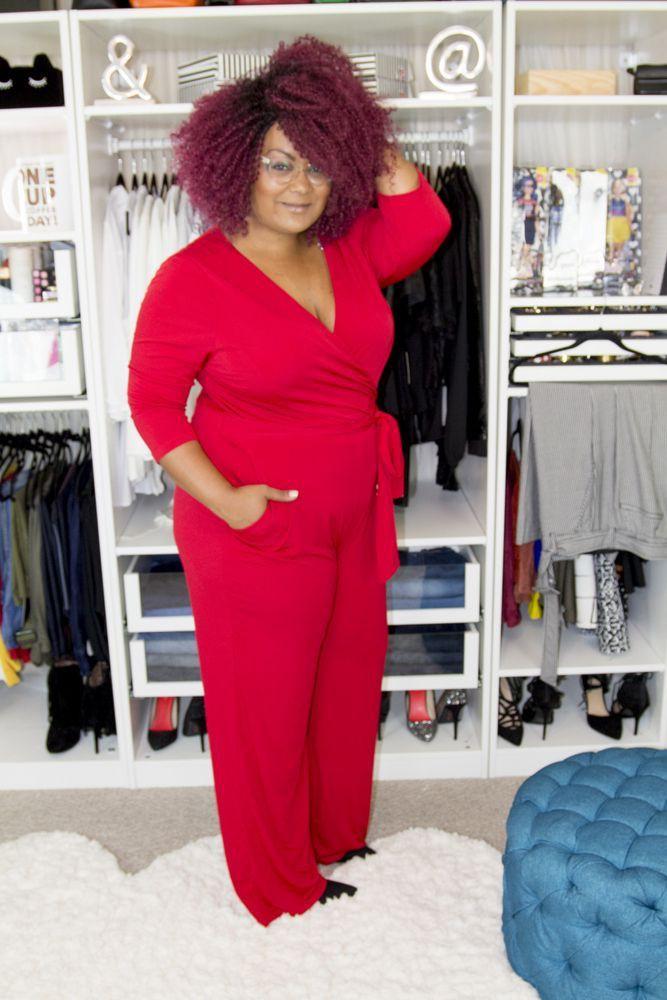 Plus Size Work Outfit, Romper suit, Plus-size clothing