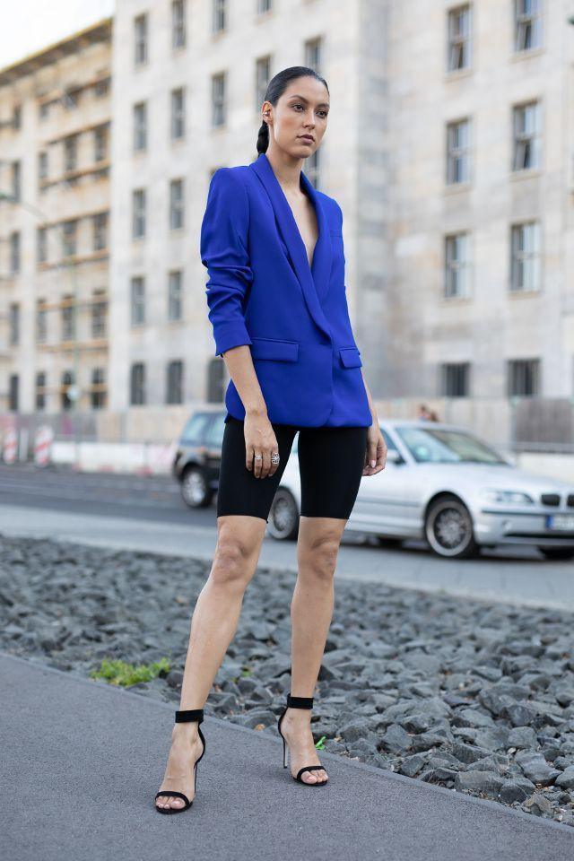 Classy fabulous fashionable bike shorts blazer, Cycling shorts