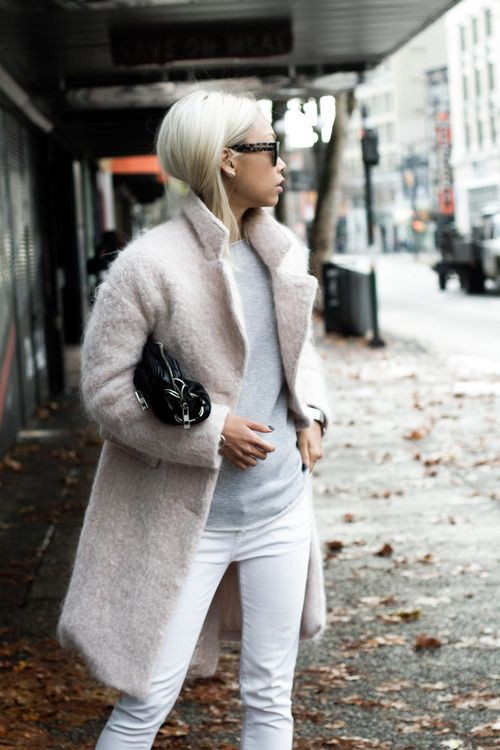 White jeans winter outfit, Winter clothing