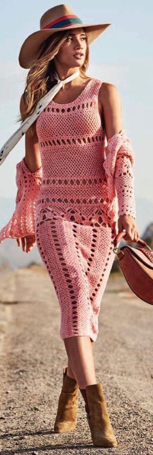 Beach Boho Outfit Ideas, Hight waist bikini, Twinset