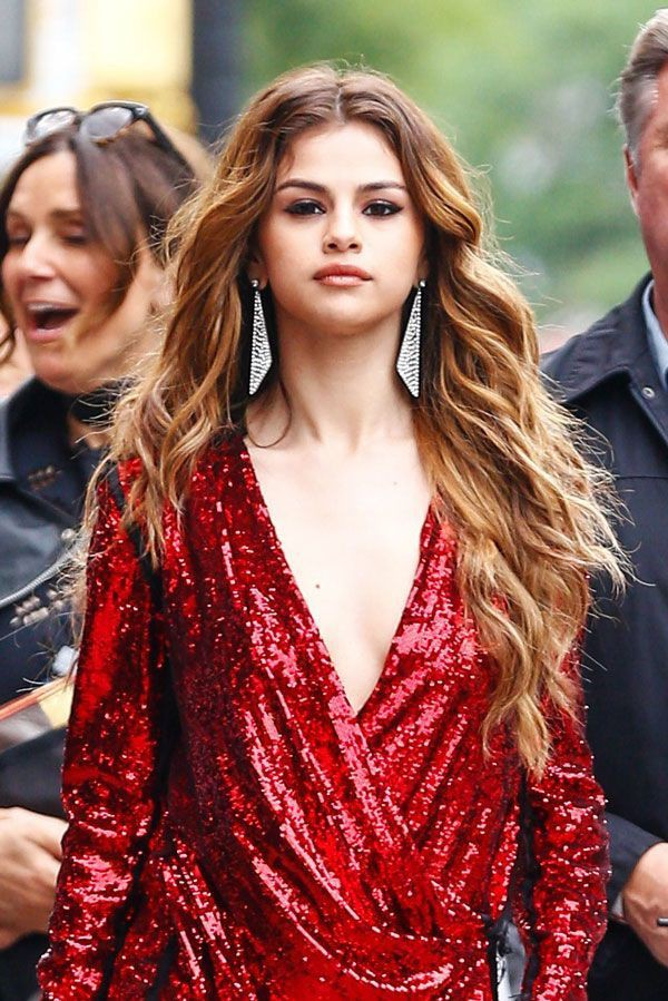 Just give it a try to these selena gomez hair 2016, Human hair color
