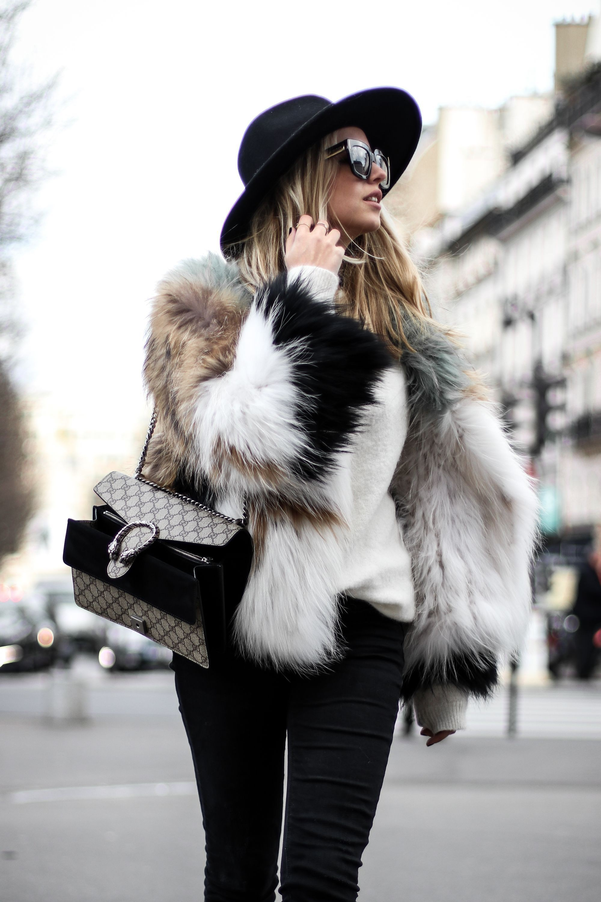 Most popular suggestions for fur clothing, London Fashion Week