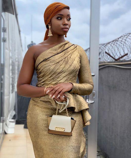Bam bam bbnaija on yellow dress