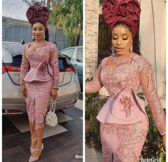 Perfect composition on Aso ebi, Fashion in Nigeria