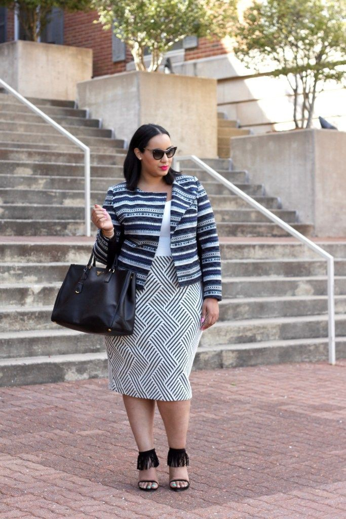 Plus Size Workwear Outfits
