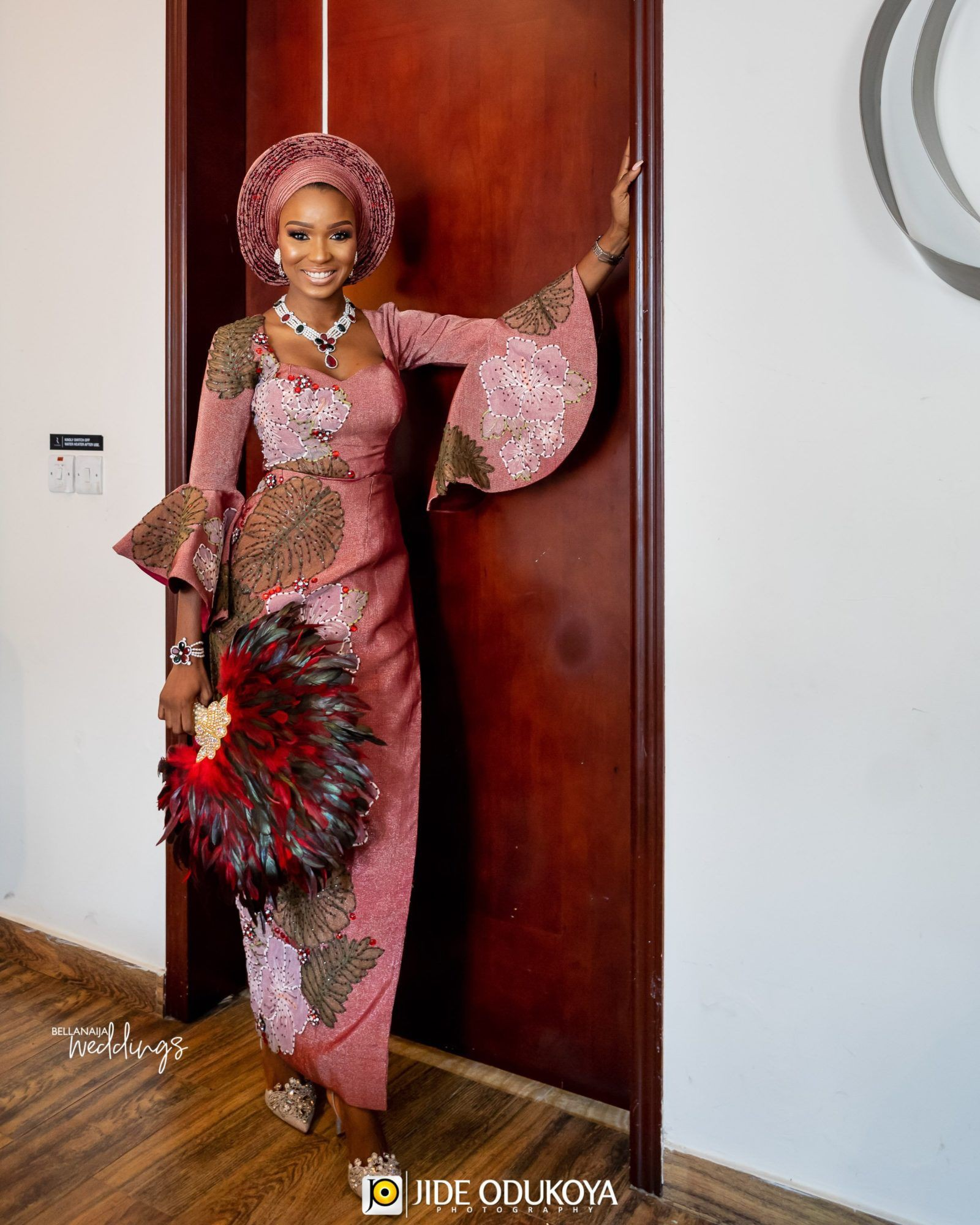Traditional bella naija wedding, Wedding dress