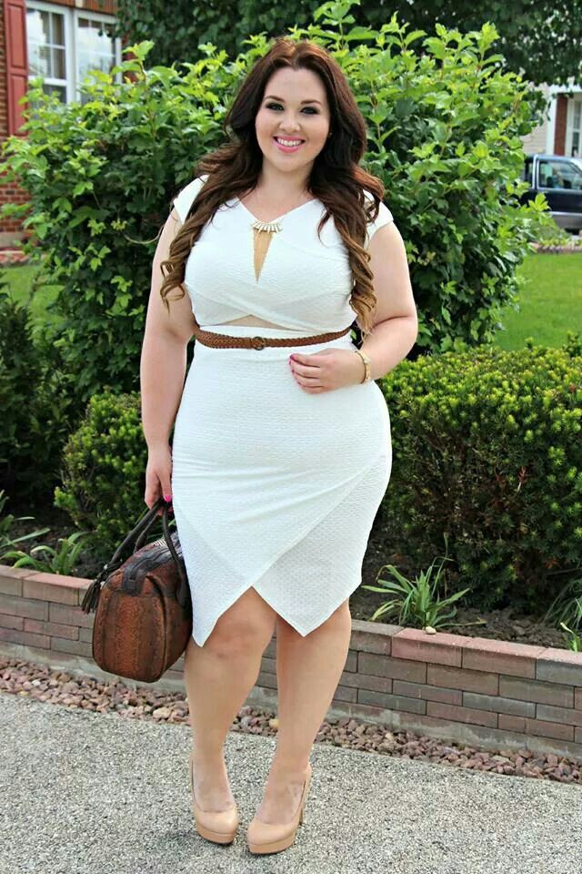All White Party Outfits Plus Size