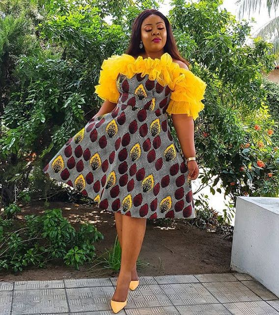 Charming! african fashion dresses, African wax prints
